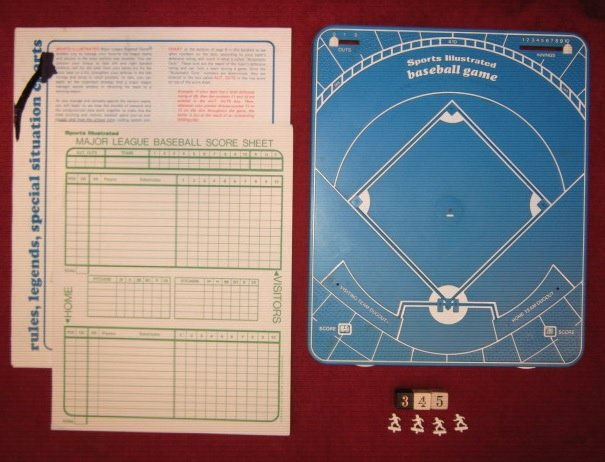 Sports Illustrated Template Unique Sports Illustrated Baseball Game 1971 Season Charts Included