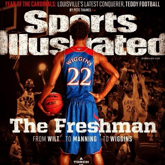 Sports Illustrated Templates Elegant andrew Wiggins to Appear On Cover Of Sports Illustrated