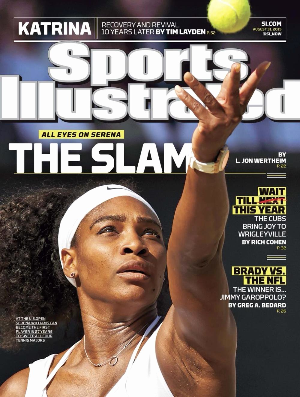 Sports Illustrated Templates Elegant Serena Williams is Finally On the Cover Of 'sports