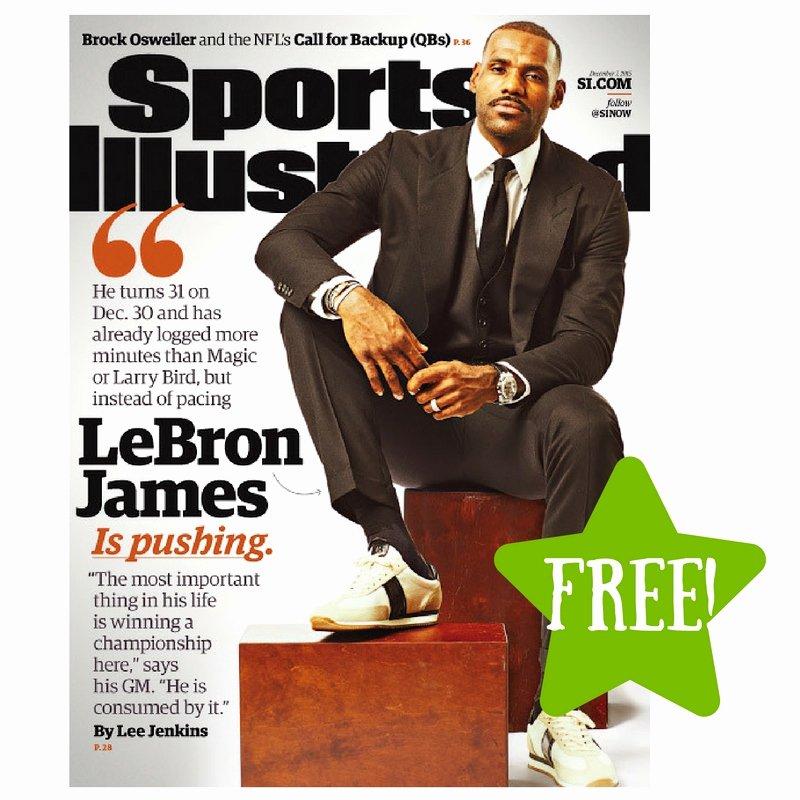 Sports Illustrated Templates Fresh Free Sports Illustrated Magazine Subscription