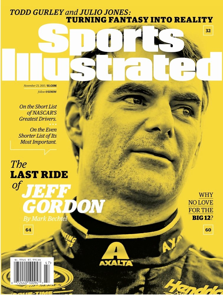 Sports Illustrated Templates Inspirational Jeff Gordon Graces Latest Sports Illustrated Cover