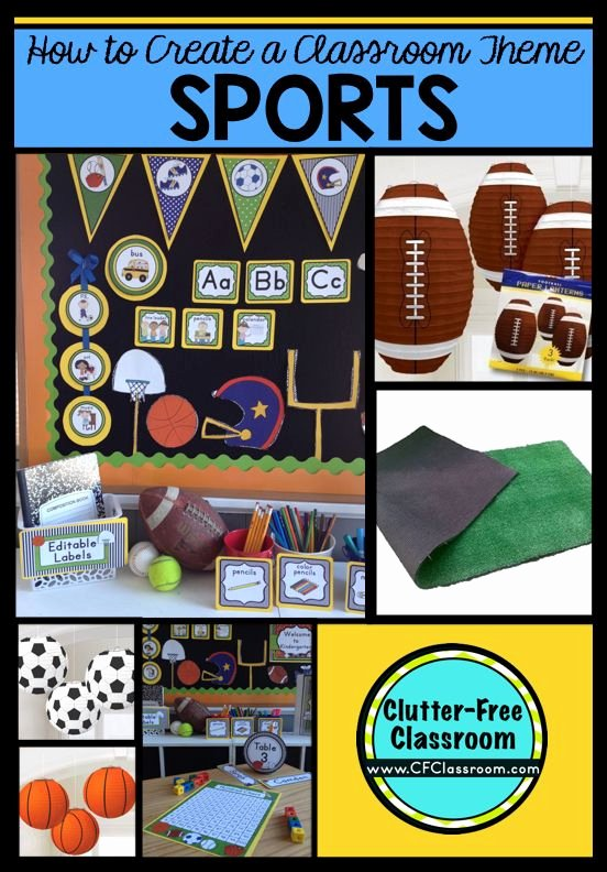 Sports theme Classroom Best Of 81 Best Sports Classroom theme Images On Pinterest