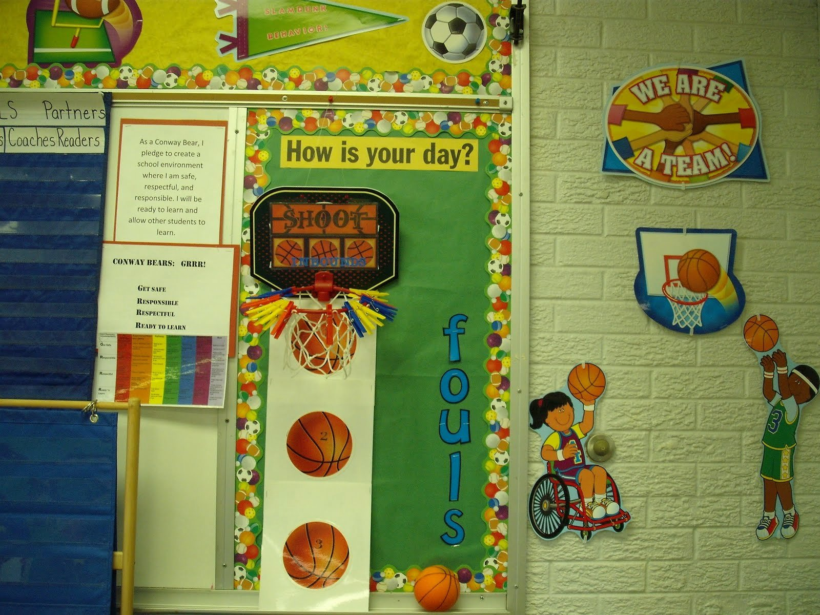 Sports theme Classroom Best Of Teaching Kindergarten Kiddos Classroom