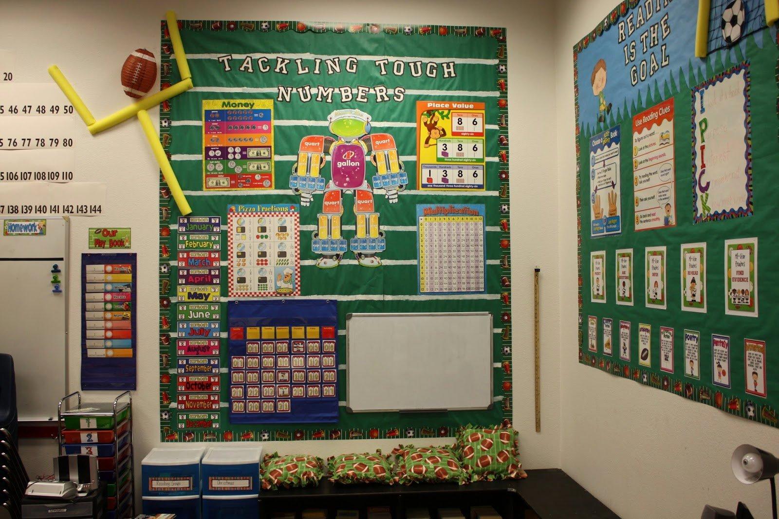 Sports theme Classroom Elegant Diary Of A Not so Wimpy Teacher A Sneak Peak Into My