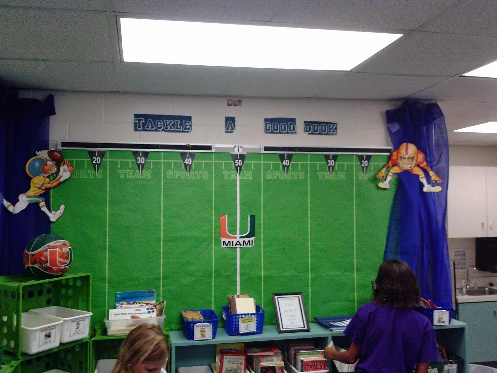Sports theme Classroom New Our School is Super Hero A Sports themed Classroom