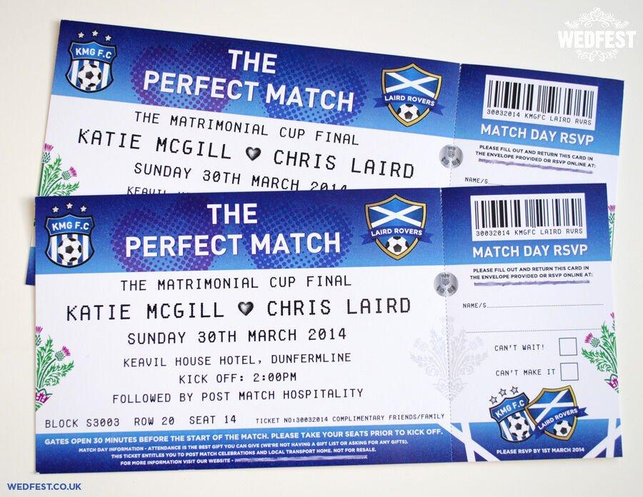 Sports Ticket Invitation Awesome Football Ticket Wedding Invitations Sample Pack