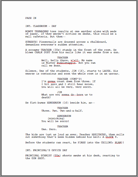 Stage Play format Template Unique Script formatting Screenwriter Coaching and Talent