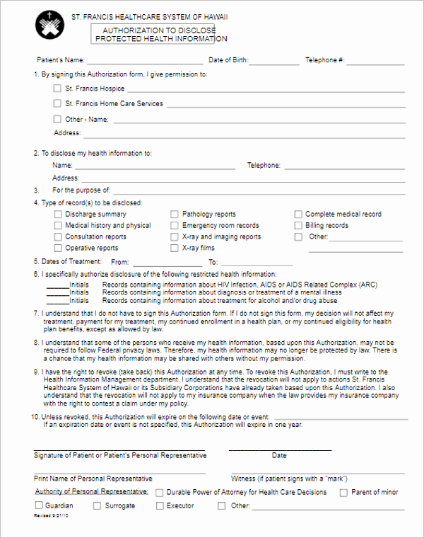 Standard Media Release form Template Luxury 41 Release form Templates Free Sample Word format