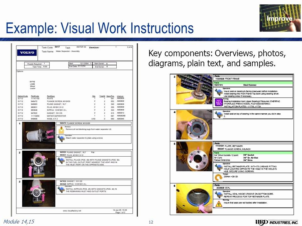 Standardized Work Instructions Templates Best Of Ensuring Value Part 3 Standardized Work Best Practices