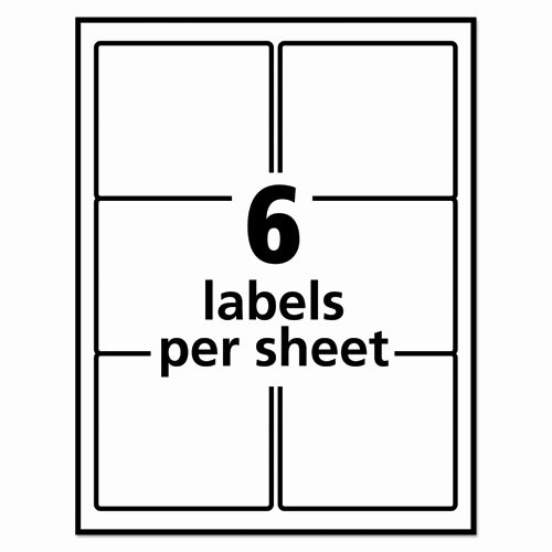 Staples Labels Templates Fresh Ave6464 Avery Removable Multi Use Labels Zuma