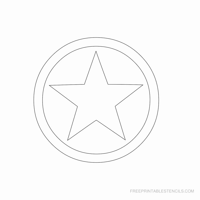Star Stencil Printable Awesome Star Stencil Printable Designs