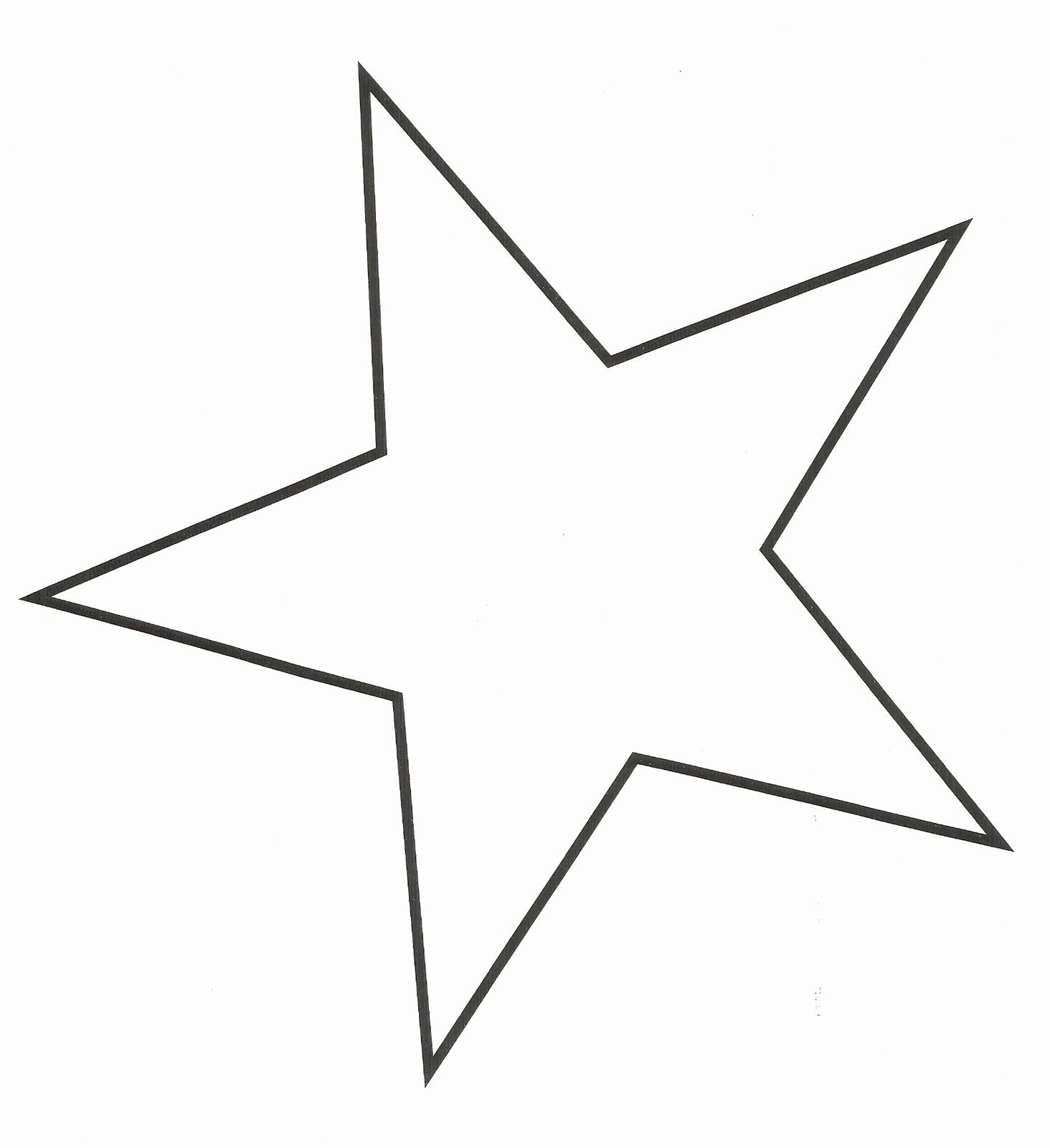 Star Stencil Printable Inspirational 5 Point Star Template Printable Crafts
