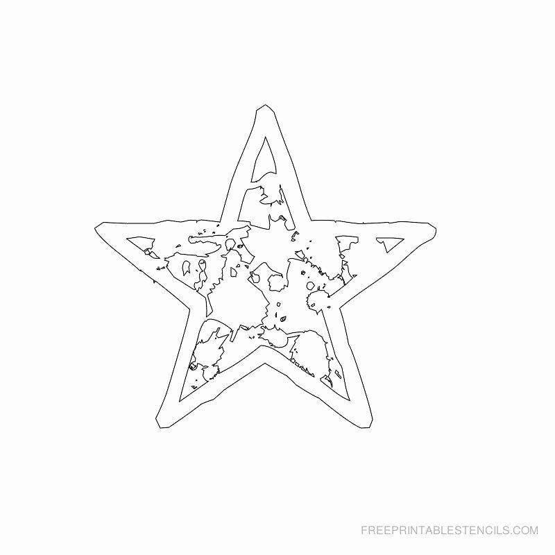 Stars Stencil Printable Awesome Star Stencil Printable Designs