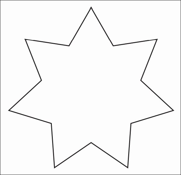 Stars Stencil Printable Lovely Star Template 19 Download Documents In Pdf Psd Vector