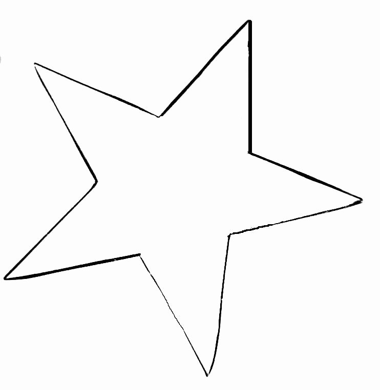 Stars Stencil Printable Lovely Star Template Printable Cliparts