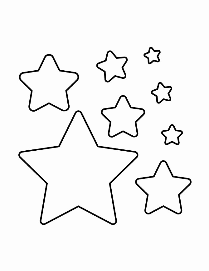 Stars Stencil Printable New Best 25 Star Stencil Ideas On Pinterest