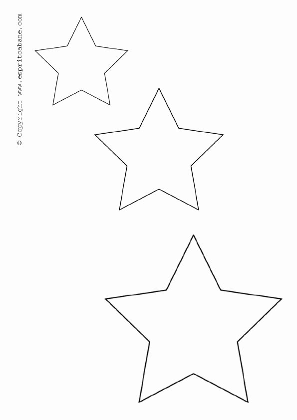 Stars Stencil Printable New Ideas for Color Flow – T Cakes