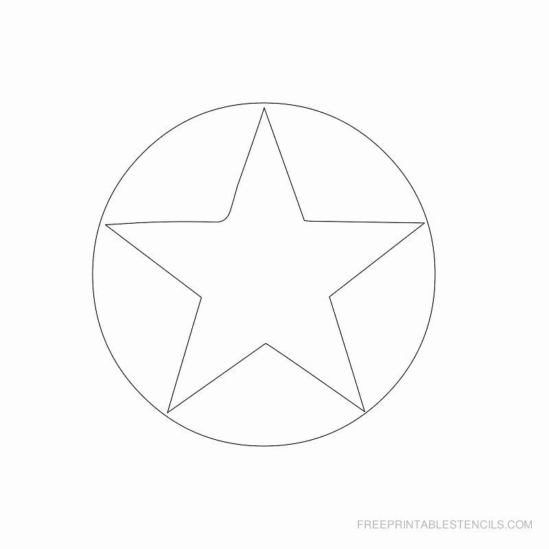 Stars Stencil Printable Unique Star Stencil Printable Designs