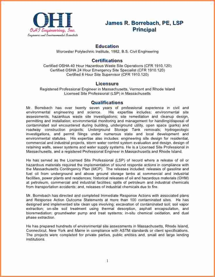 Statement Of Qualifications Template Free Beautiful 6 Statement Of Qualifications Sample