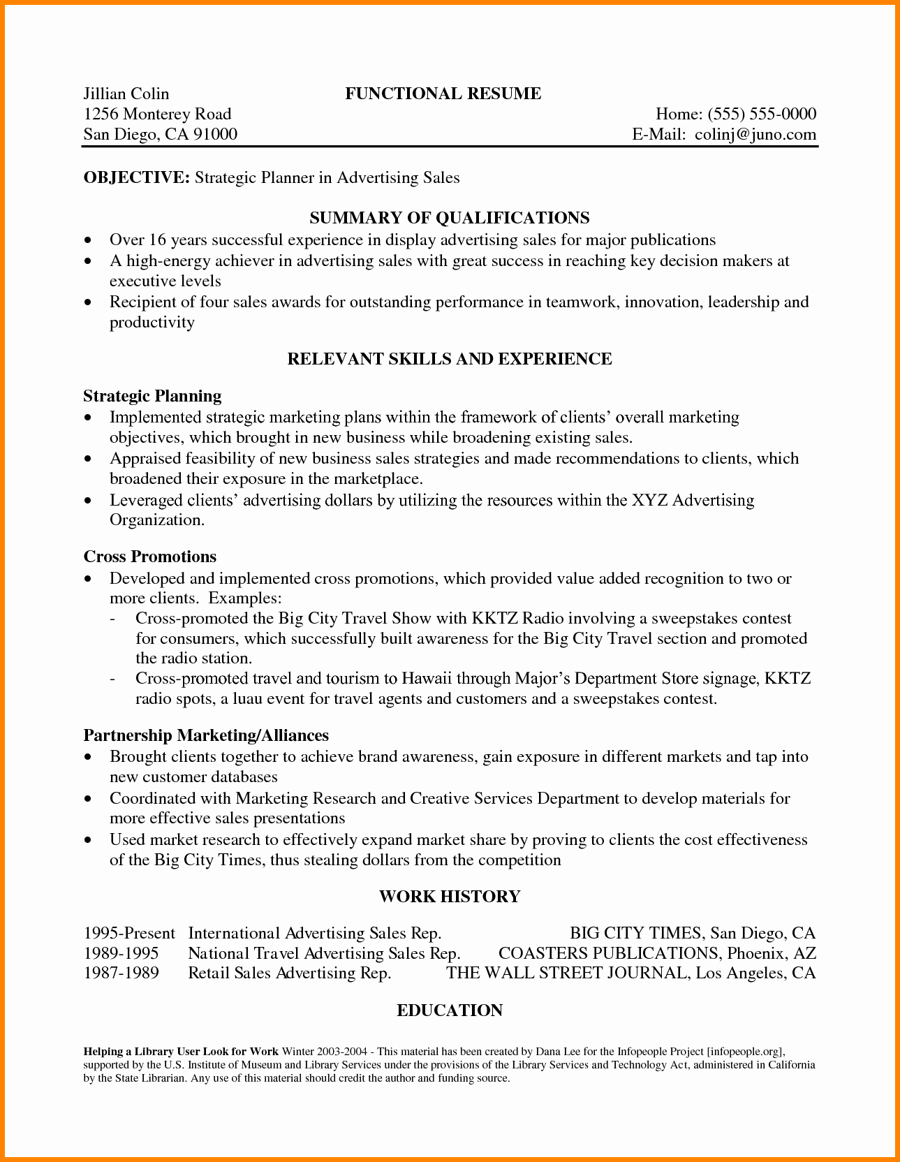 Statement Of Qualifications Template Free Best Of 8 Statement Of Qualifications Sample Template