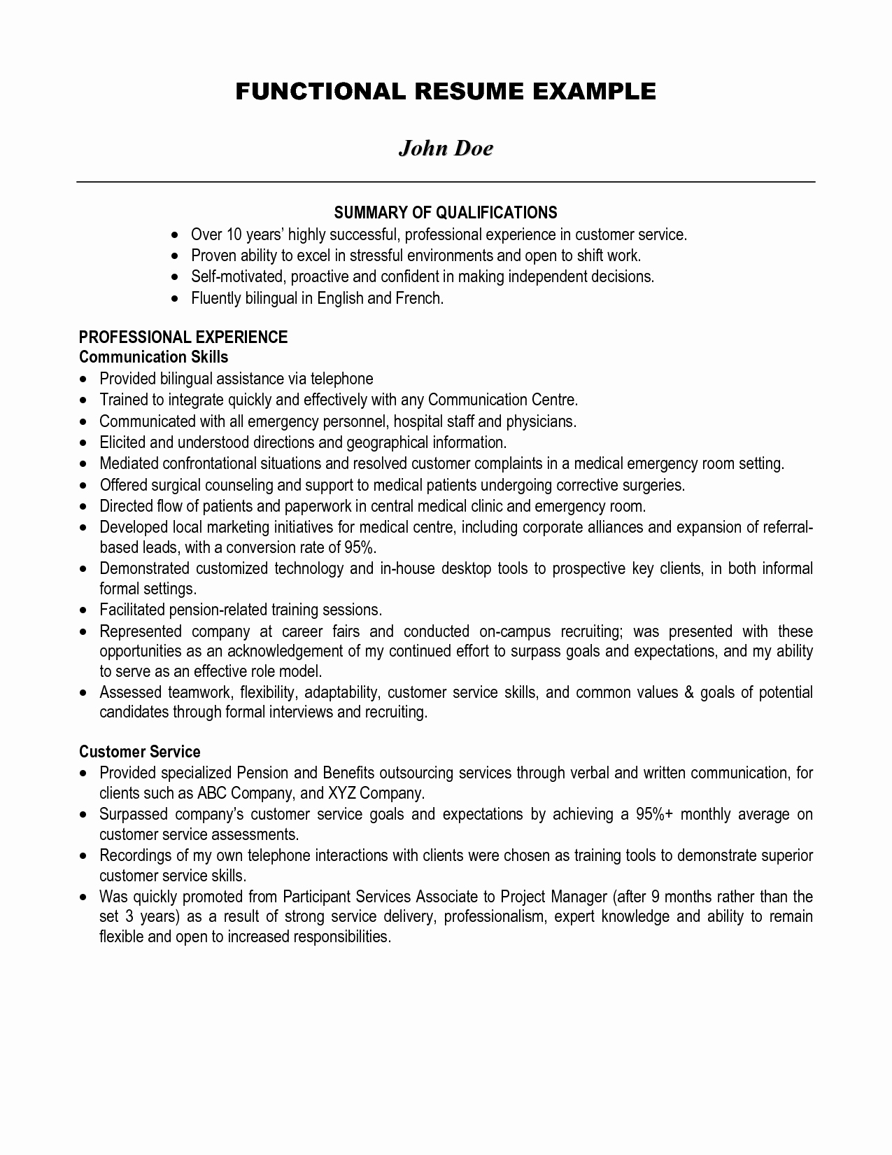 Statement Of Qualifications Template Free Inspirational Professional Qualifications for Resume Resume Ideas