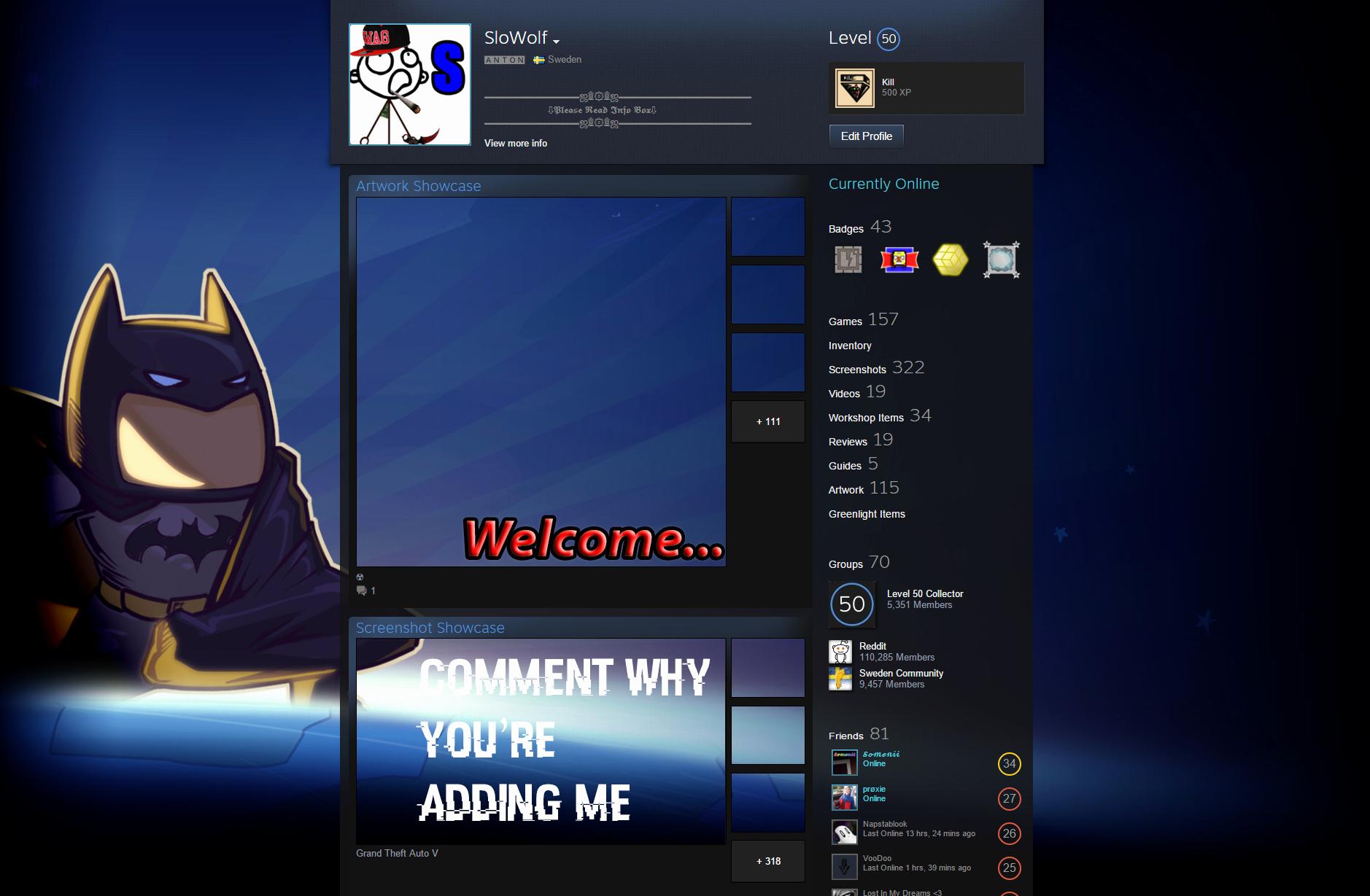 Steam Custom Info Box Art Beautiful Steam Munity Guide How to Make A Cool Steam Profile