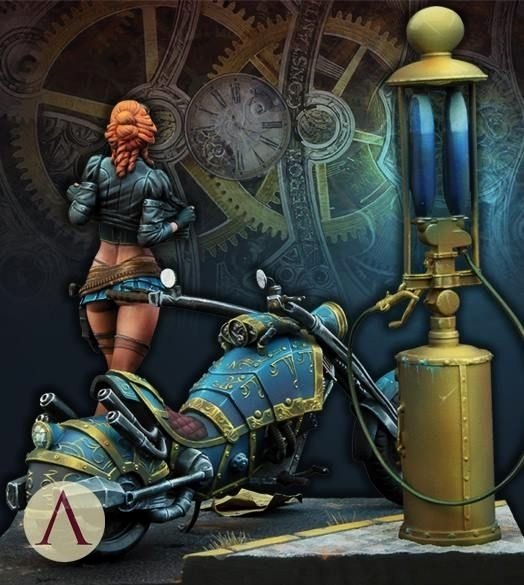Steam Custom Info Box Art Unique Sarah Kilmister Steam Wars Scale 75 by Mmasclans