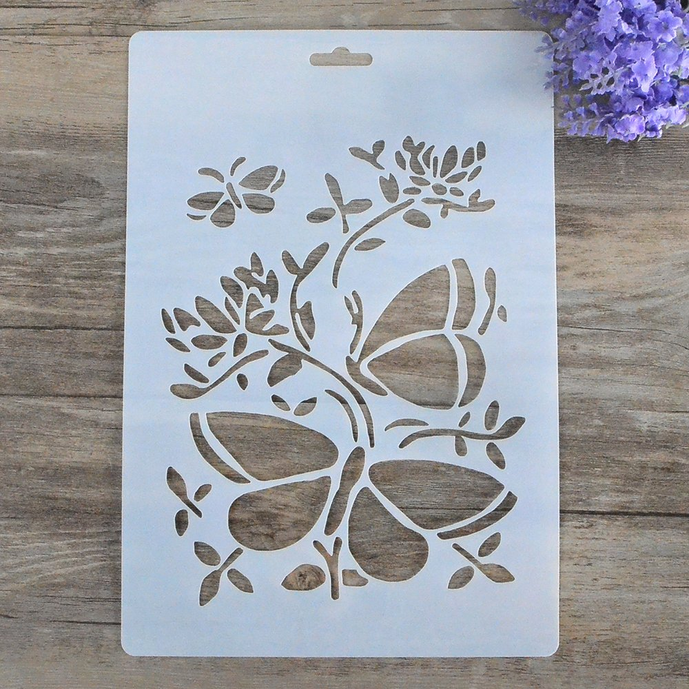 Stencil Templates for Painting Best Of Aliexpress Buy Diy Craft butterfly Layering Stencils