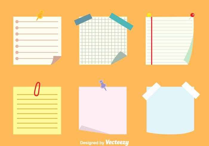 Sticky Notes Vector Best Of Sticky Notes Vectors Set Download Free Vector Art Stock