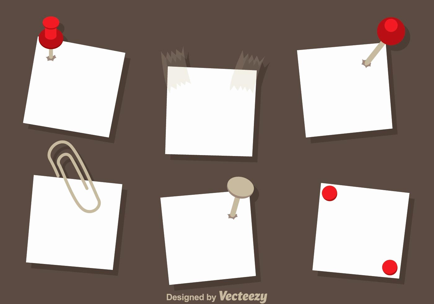 Sticky Notes Vector Lovely Paper Note Vectors Download Free Vector Art Stock