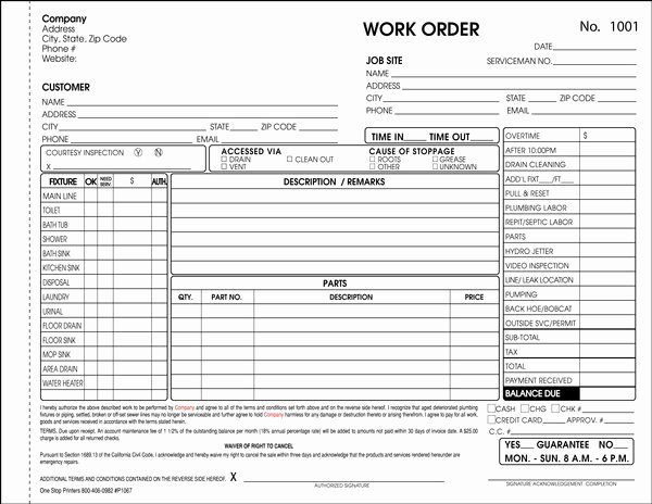 Stop Work order Template Unique Massachusetts Plumbing Drain Cleaning and Septic System