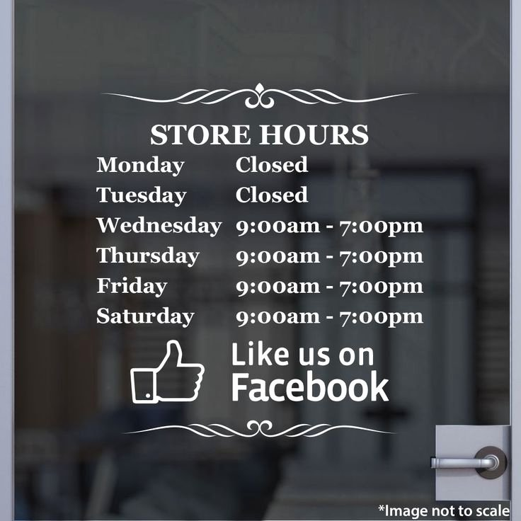 Store Hours Sign Template Luxury Store Hours Stickertitans
