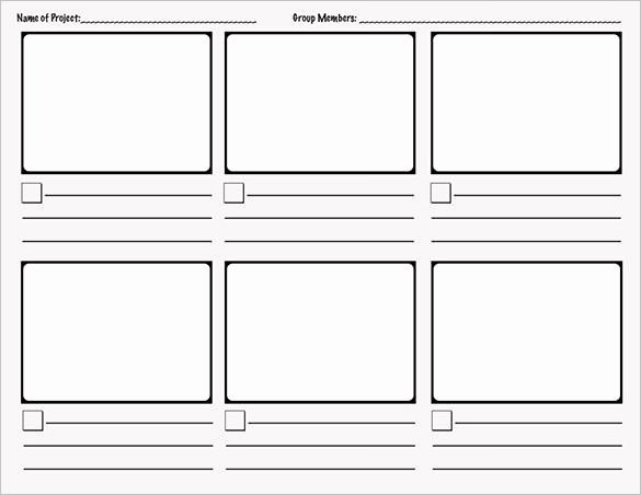 Story Book Template Awesome 7 Ic Storyboard Templates Doc Excel Pdf Ppt