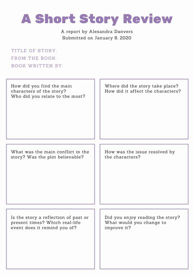 Story Book Template Beautiful Violet Minimalist Story Book Report Templates by Canva
