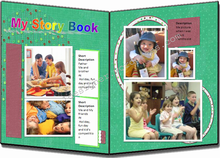 Story Book Template Best Of Story Book Template