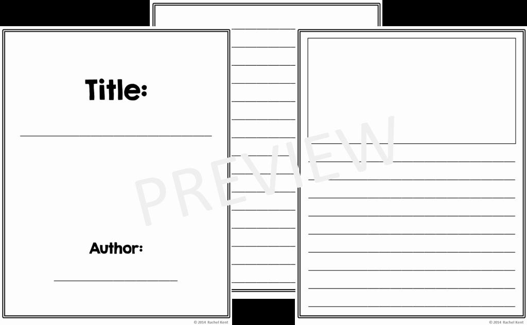 Story Book Template Elegant Free Book Template Printables Rachel K Tutoring Blog