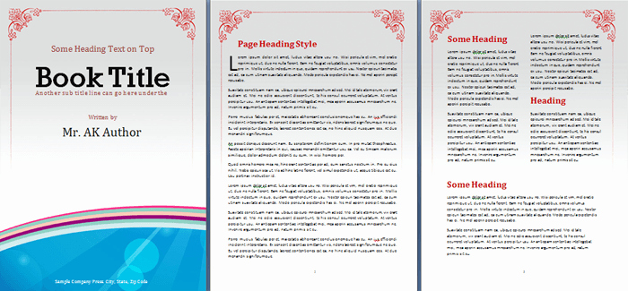 Story Book Template Fresh Booklet Template