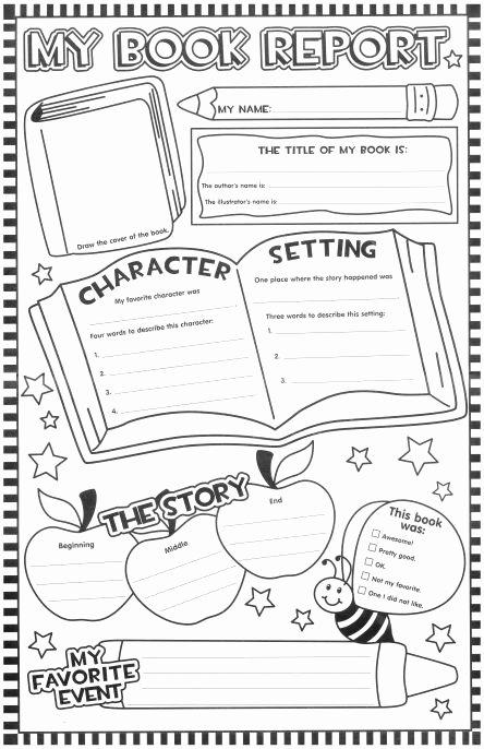 Story Book Template New Best 25 Teacher Worksheets Ideas On Pinterest