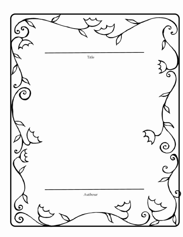 Story Book Template New Book Template for Students Good Copy Of their Stories