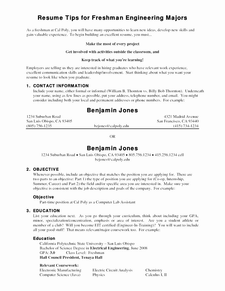 Student athlete Resume Example Fresh 30 Basic Student athlete Resume Jv O – Resume Samples