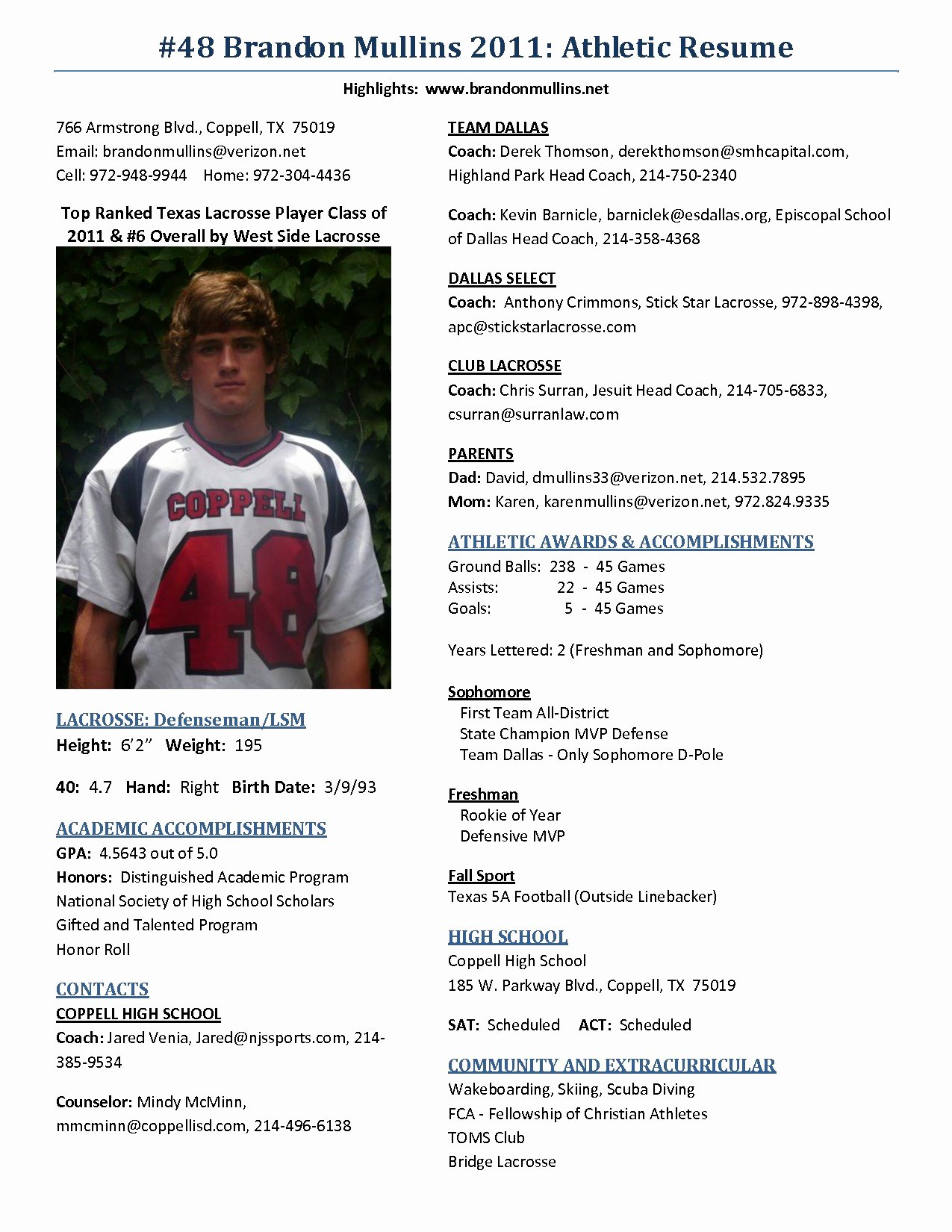 Student athlete Resume Example Lovely 36 Exclusive College athlete Resume at O – Resume