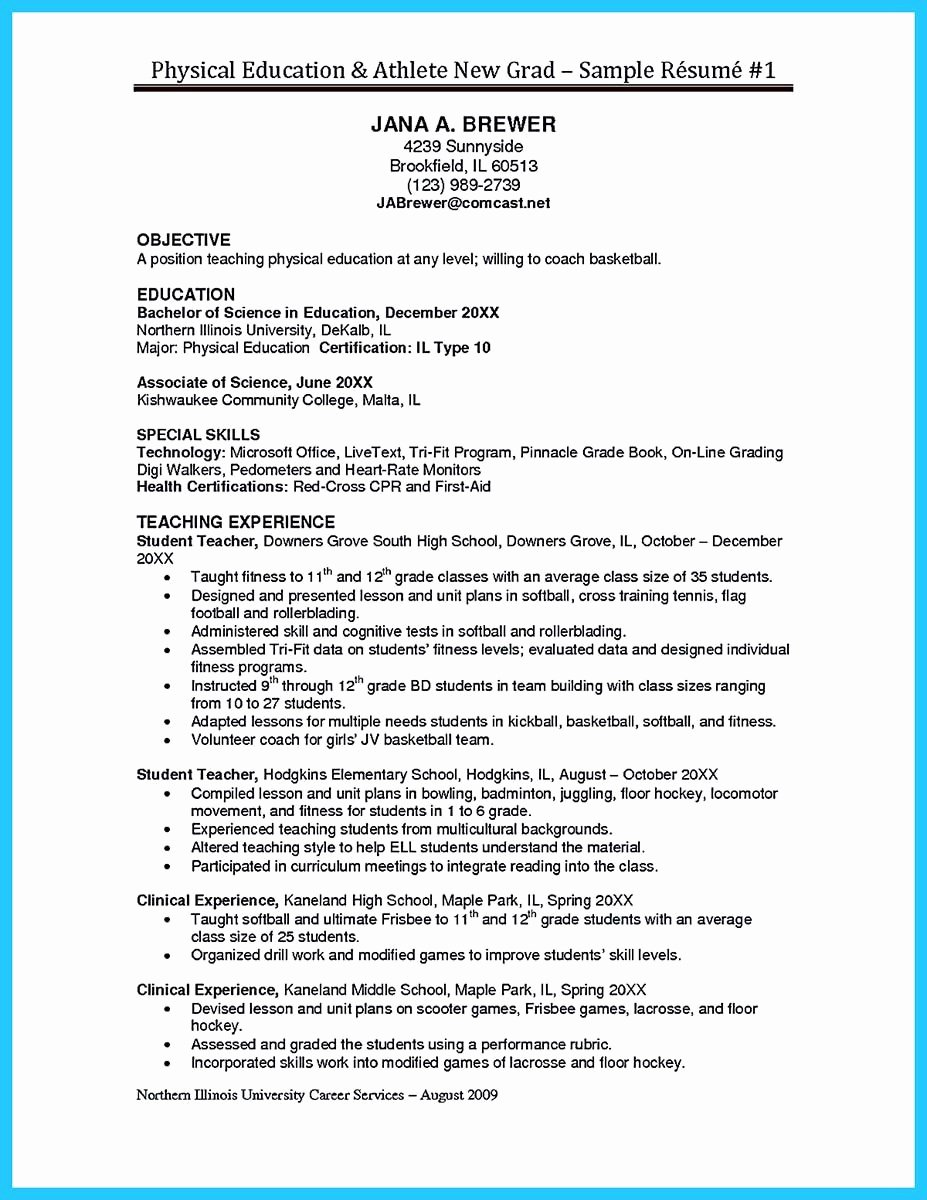 Student athlete Resume Example Unique athlete Resume for College Cover Letter Samples Cover