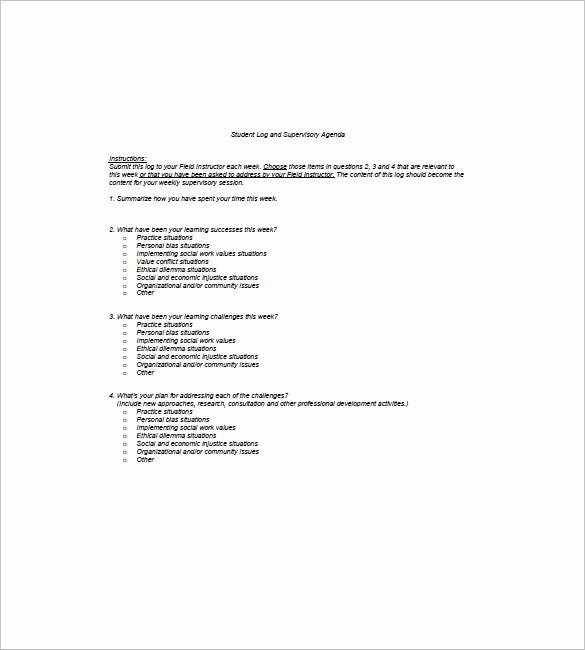 Student Council Minutes Template Luxury 6 Student Agenda Templates Pdf Doc