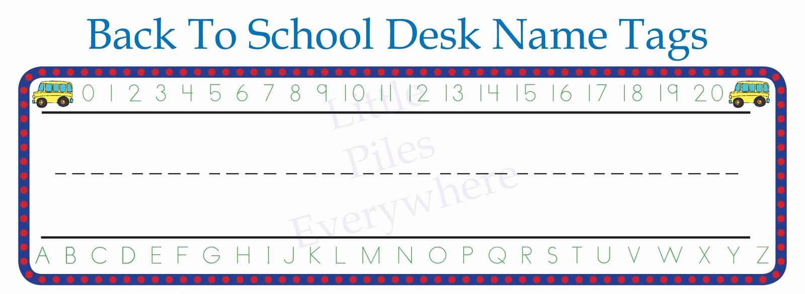 Student Desk Name Plates Templates New Printable Desk Name Plates for School Hostgarcia
