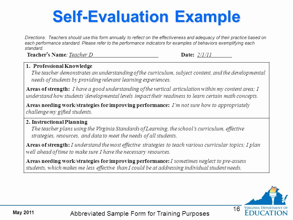 Student Performance Evaluation Examples Luxury Teacher Responsibilities Ppt Video Online