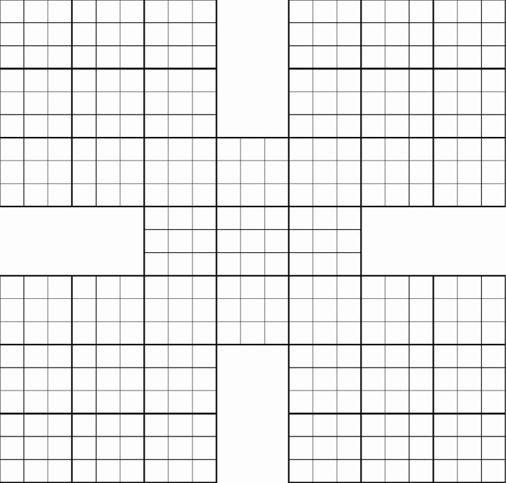 Sudoku Grid Template Beautiful 3 Printable Sudoku Grids Free Download