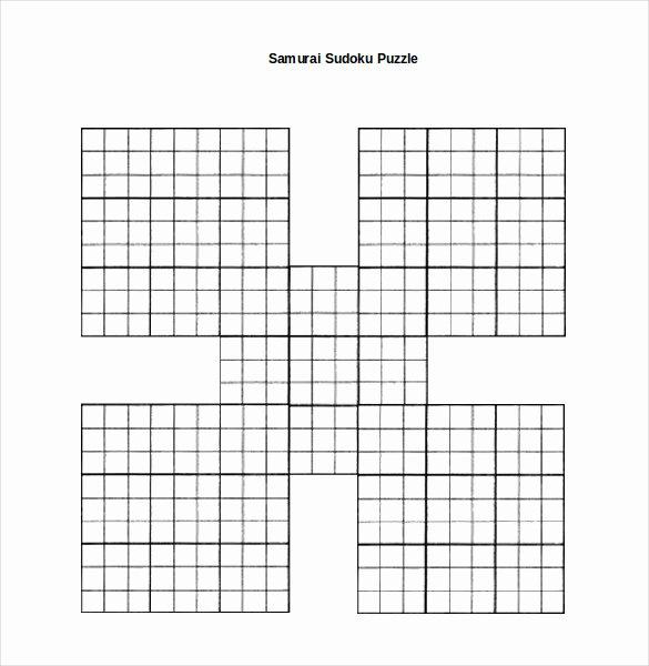Sudoku Grid Template Elegant 15 Word Sudoku Templates Free Download