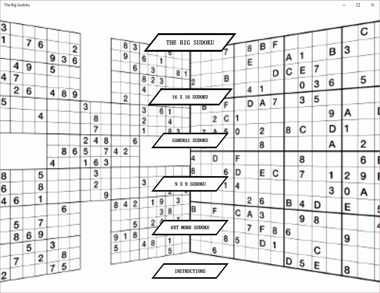 Sudoku Grid Template Lovely the Big Sudoku for Windows 10