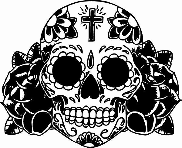Sugar Skull Outline Best Of Sugar Skull Outline