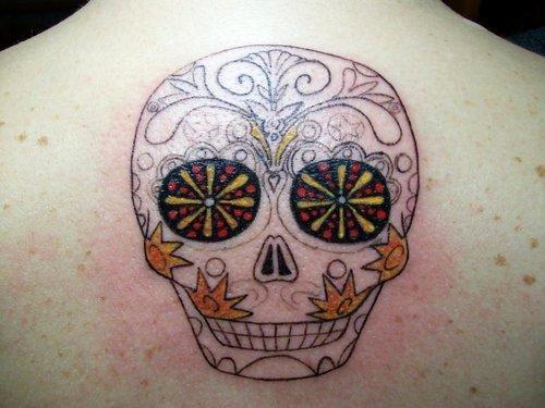 Sugar Skull Outline Unique Sugar Skull Outline – Tattoo Picture at Checkoutmyink